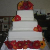 First Wedding Cake uploaded the wrong one the first time-oops!
