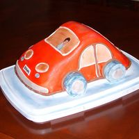 Red Car  Made for my son's third B-day - cars were his thing at the time (now he's into dinosaurs, if the trend persists, it would make an...