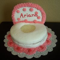 Pink Potty Chair Cake
