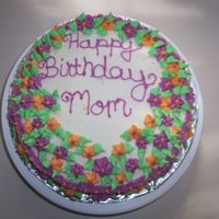 Birthday Cake Birthday Cake for my Mother