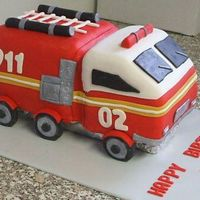 Firetruck My poor little firetruck, it didn't turn out as I had hoped. It was for my son's 2nd birthday. Decorated in fondant. I wish I...