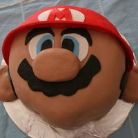 Mario I made this Mario cake for my son's 6th birthday party. I got the idea and the great idea on here from msauer. Thanks for all the help...