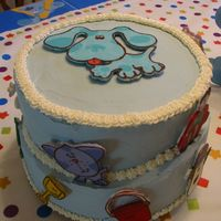 Blue's Clues Cake My son's 2nd birthday cake.