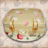 Suitcase Wedding Cake Inspired by Maisie Parrish