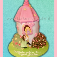 Rapunzel Cake Inspired by Debbie brown