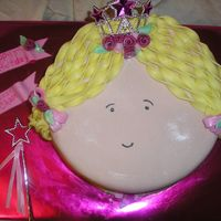 Princess Chase   this was a fun princess cake thanks to inspiration here on CC!!! all Michelle Foster Fondant!