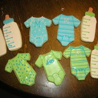 Baby Shower Cookies NFSC with RI inspiration from here on CC