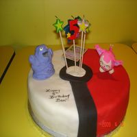 Another Pokemon Cake Figurine's are made of fondant.