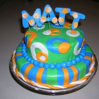 Matt's 9Th Birthday Cake  I have been enjoying this site and am inspired by everyone's talent here. I've been making cakes for years, but never did a...