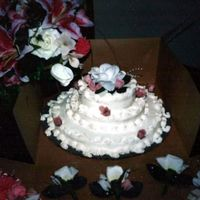 My Wedding Cake 12 Years Ago Buttercream