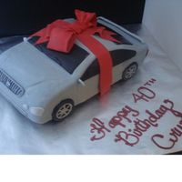 Lexus Car Cake OMG! My first car cake. I spent hours on this cake. I immediately did another one right behind this one though , and it went much faster. I...