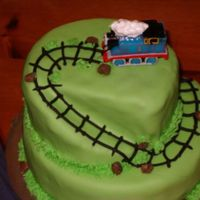 Thomas The Train Covered in Fondant. TFL
