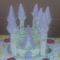 Princess Castle I made this for my neice's birthday. I learned a lot about using the Wilton kit. I'll post a better picture once my SIL sends it...
