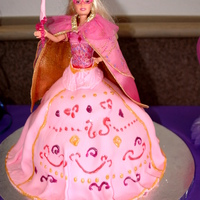 Barbie Cake This is Corrine from Barbie and the 3 Musketeers.