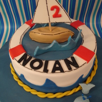 Nolan's Nautical Birthday Bash!!