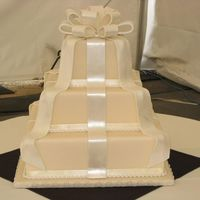 Bow Top, Fondant And Gumpaste Ribbons