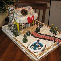Gingerbread House Gingerbread house made to raise money for the christmas cheer board.