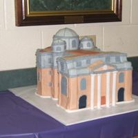 St. Peter's Bascilica This was a cheap version of St. peter's. The customer had a tight budget and so we made the cake to fit the budget. It was my first...