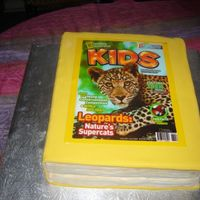 "Happy 5Th Birthday"" National Geographics Kids!!!  I was asked by the south african National Geographics Kids books, to do their 5th birthday cake for today - I was so excited - lol they..."