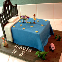 Toy Story I've seen this cake on here several times, and just couldn't pass up the chance to make it. Thanks to the original designer.......