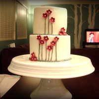 Simple & Modern Why is it every time I use buttercream, my tiers are crooked? AH, so frustrating!!