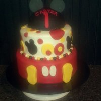 1St Birthday Mickey Mouse Style