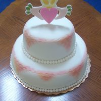 Claddagh Wedding Cake
