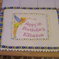 Eliana's (Great Niece)B-Day Cake