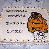 Sons Collage Graduation Cake
