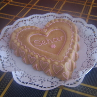 Love Heart A simple cake for my beautiful daughter just to say she's Love <3