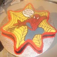 Spiderman Cake I really found it hard to find the idea for this cake (i didn't know about this website at that time) I made some scary spiders from...
