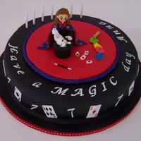 The Magician Finally a cake that really got me going on the creativity - I enjoyed this and really like the outcome