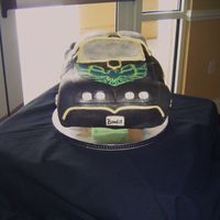 Bandit Cake Fondant 3D Smokey and the Bandit cake. First car cake Love it!