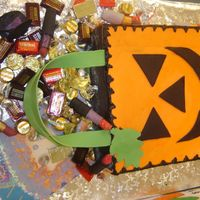Avon Halloween Party Cake