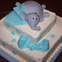 Elephant Baby Shower I made this for a friend who was hosting a baby shower. The mom-to-be wanted her mother's red velvet recipe... and I have never made a...