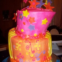 Courts Cake my first whimsy cake