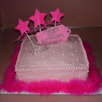 Princess Birthday This cake was created from ideas here on cake central. Thanks!