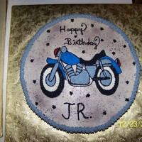 Motorcycle Cake motorcycle birthday cake hand drawn and done in buttercream