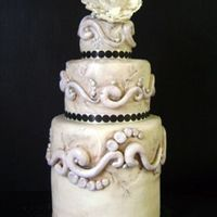 """antique"" Wedding Cake"