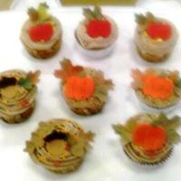 Fall Cupcakes   Fall cupcakes I made during a demo at work.