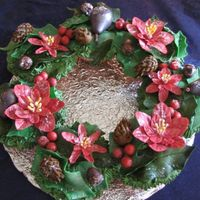 Christmas Cupcake Wreath I had such a great response on my thanksgiving wreath I decided to make a Christmas Holiday cupcake wreath also. I hope you enjoy it. I...