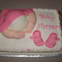 Baby Bottom / Bum Thanks to everyone for all the great ideas ya'll post on here!!! Such a fun cake to make!