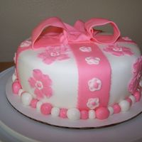 Back View Of My Cake... This is the back of my cake.
