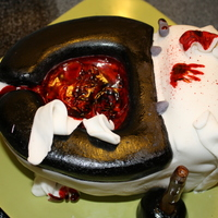 Son Of Blood Toilet Second Blood Toilet cake.