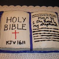 Holy Bible Holy Bible book cake
