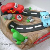 Cars Cake for my nevieuw