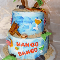 Surfer/ Jimmy Buffett This cake was sooooo fun