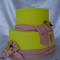 Dragonfly Buttercream with fondant accents