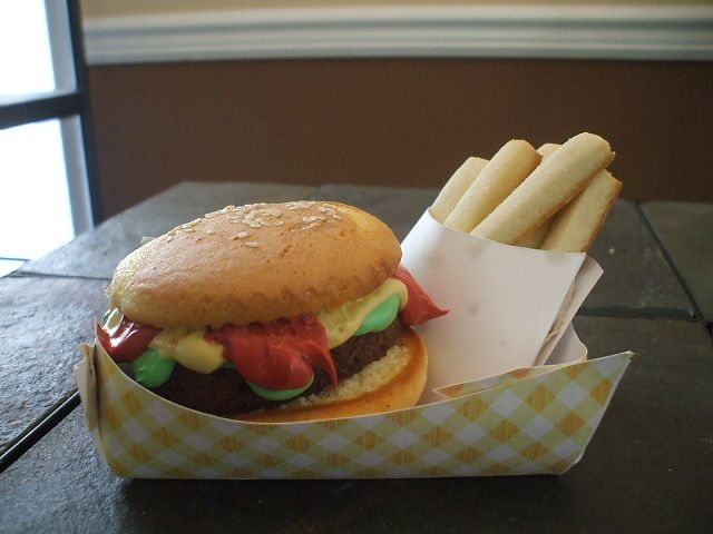 Hamburger And Fries!