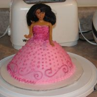 Barbie I made this for my cousin's birthday